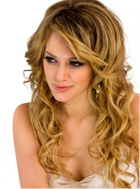 Quick and Easy Hairstyles for Long Curly Hair