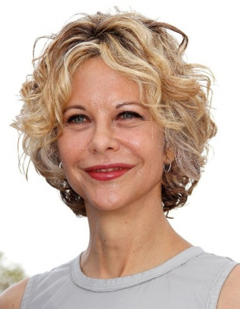 Short Curly Hairstyles For Women..