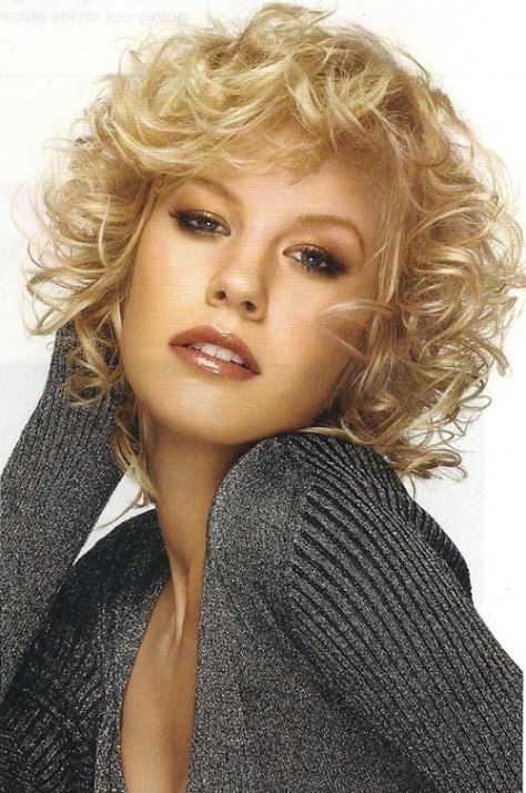 Short Haircuts For Women With Curly Hair