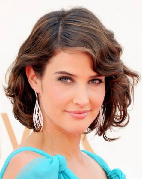 Short Wavy Hair For Summer Haircut
