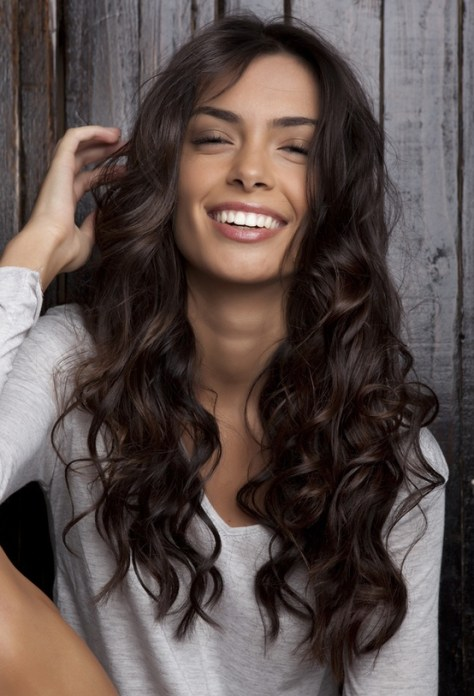 cute and easy curly hairstyles