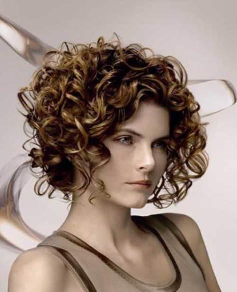 cute curly bob hairstyles