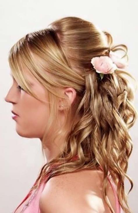 cute homecoming hairstyles..