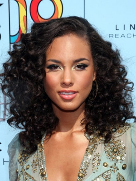 funky curly hairstyles..