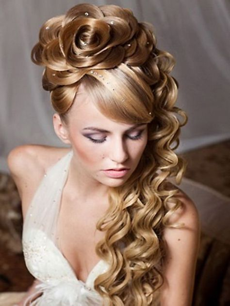 prom hairstyles curly updos..