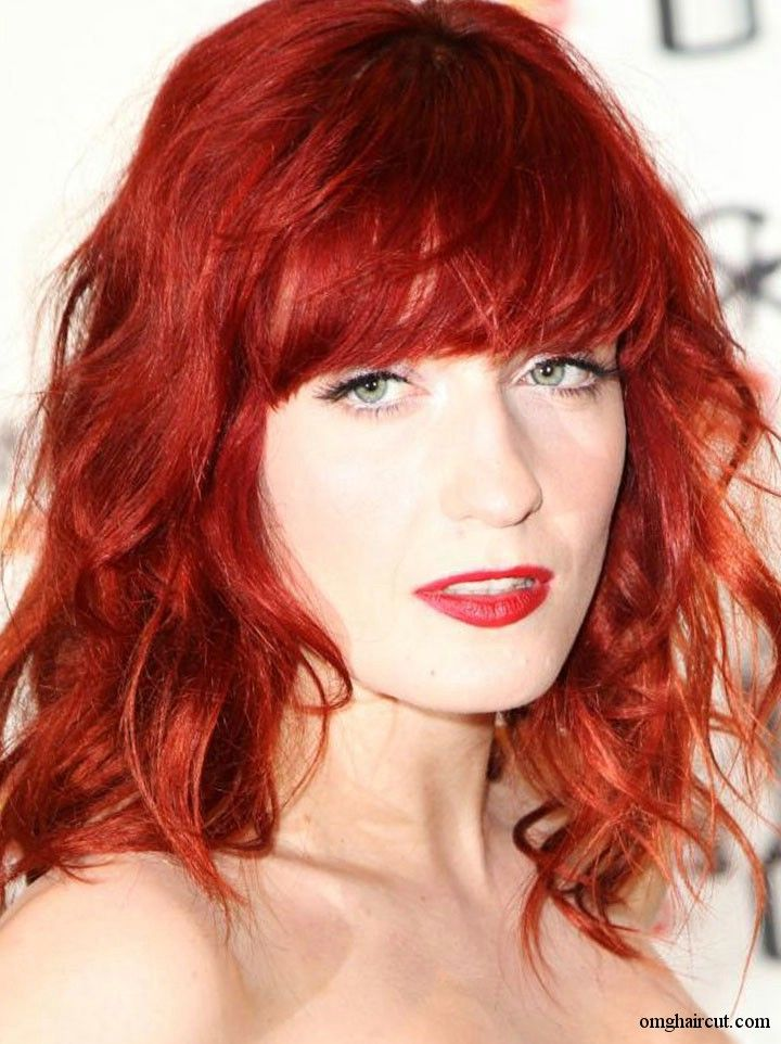 Trendy Curly Red Hairstyles Womens Fave HairStyles