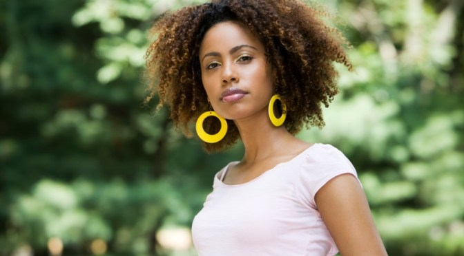 Natural Curly Hairstyles For African American Womens
