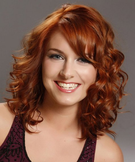 Curly Hairstyles for Teens