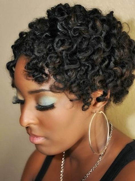 Cute Hairstyles For Short Curly