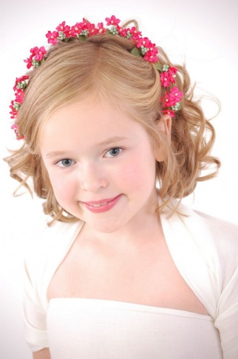 Kids Hairstyles For Girls With Curly Hair