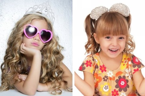 Long Curly Hairstyles For Kids