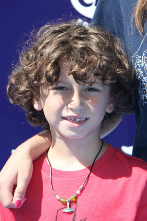 Naturally Curly Hairstyle for Boys