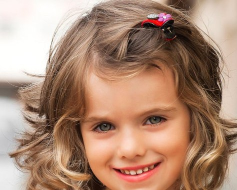 Wedding hairstyles for kids girls ...