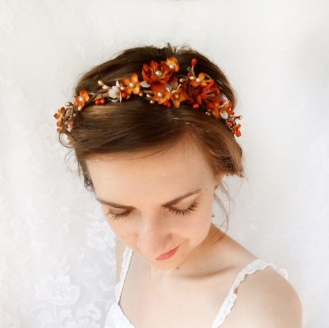 Chic Fall Wedding Hairstyles