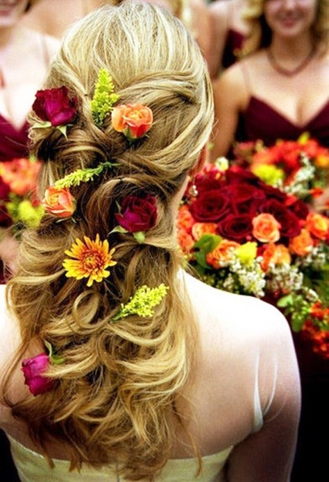 Classic Fall Wedding Hairstyles