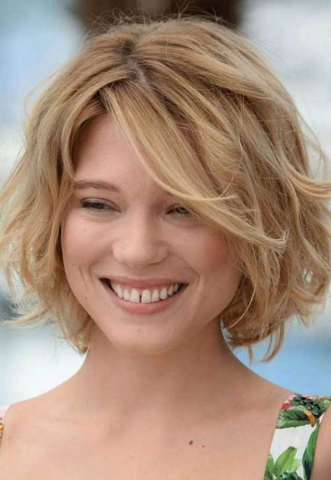 Cute short blonde hairstyles