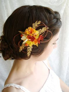 Fabulous Fall Wedding Hairstyles