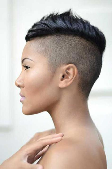 Grand Mohawk Hairstyles For Black Women