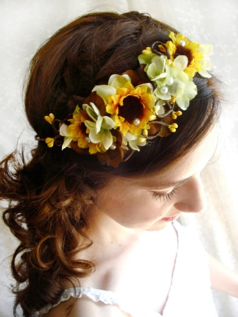 Lovely Fall Wedding Hairstyles