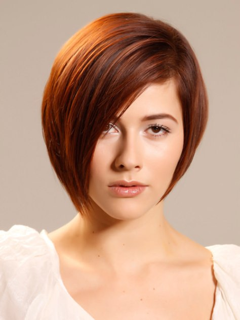 Simple Chic Short Smooth Hairstyle For Thick Hair