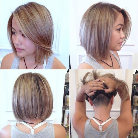 Undercut-Straight-Bob-Hairstyle