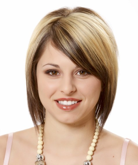 short-haircuts-for-round-faces-women