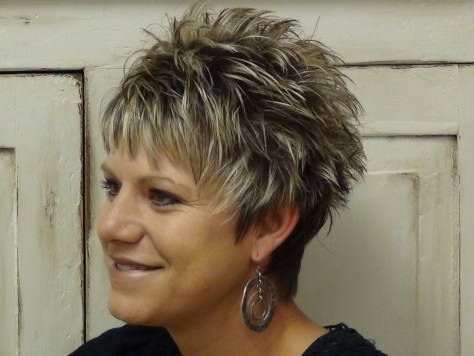 Cute Short Hairstyles For Women Over 50....