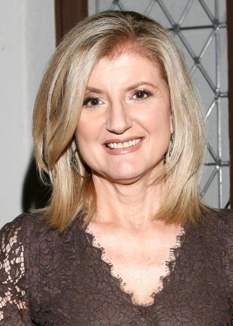 BEVERLY HILLS, CA - MAY 07: Author Arianna Huffington attends the Live Talks Los Angeles held at the All Saints Church on May 7, 2014 in Beverly Hills, California. (Photo by Tommaso Boddi/WireImage)