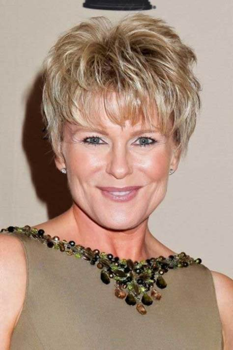 Haircuts for Women Over 50 Short Hair Style