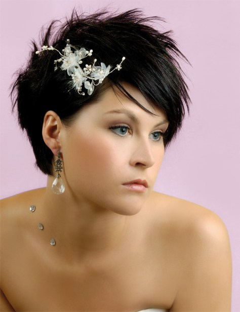 Hairstyle Short Hair Wedding