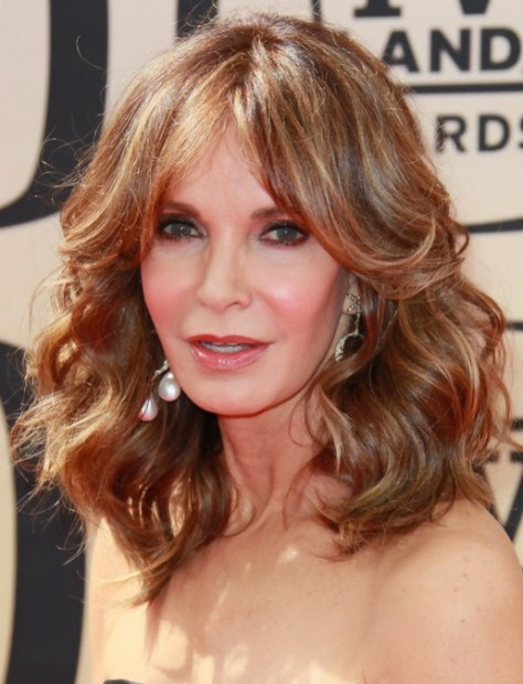 Jaclyn Smith Medium Curly Hair Style