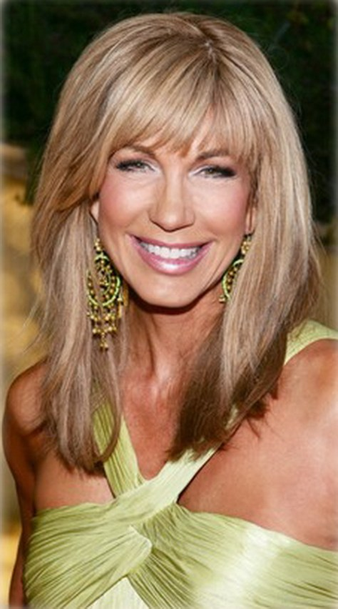 Long Layered Hairstyles for Women Over 50
