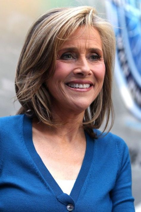 Medium Length Hairstyles for Women Over 50...