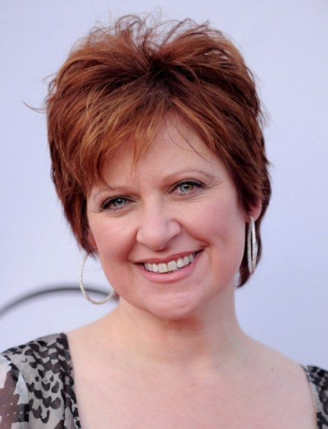 Short Haircuts For Women Over 50 With Round Faces