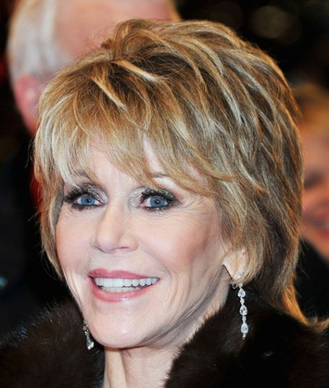 Short Shaggy Hairstyles for Women over 50....