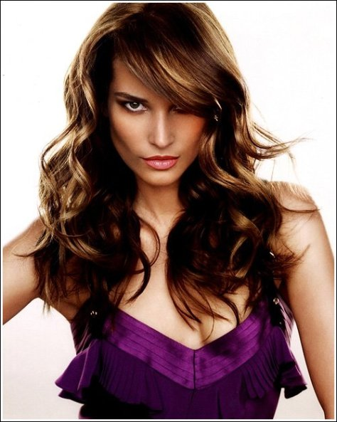 Side Bangs with Long Hair...