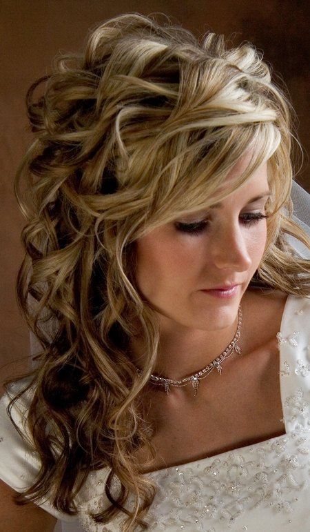 Wedding Hair For Long Hair Down