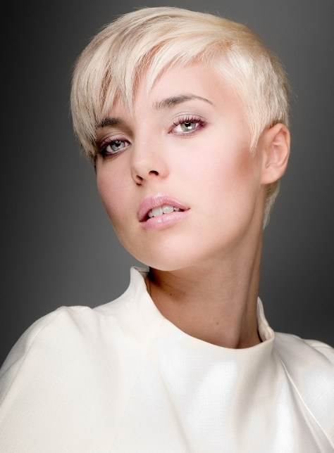 2015 2014 Short Hairstyle for Thin Hair