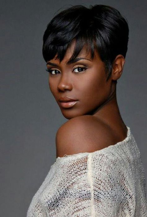 Best Short Hairstyles for Black Women with Natural Hair Showing ...
