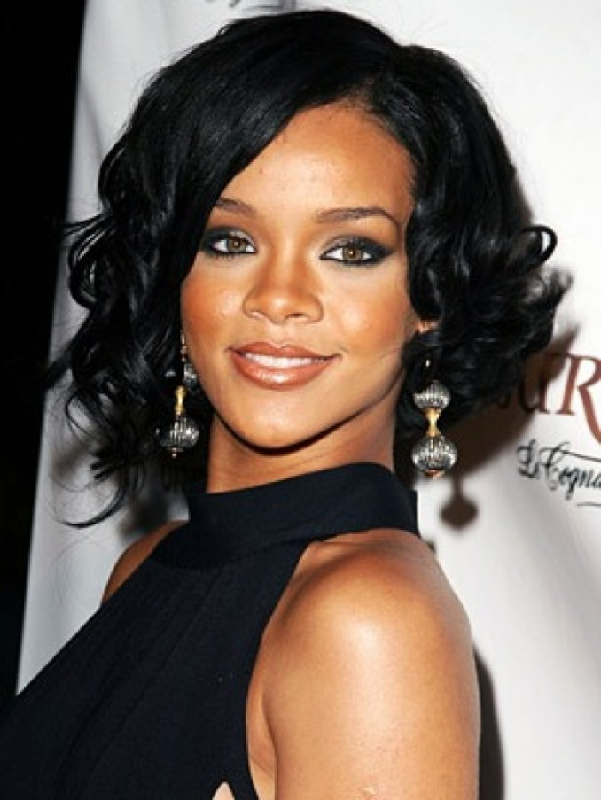 Image Result For Rihanna Long Hairstyle