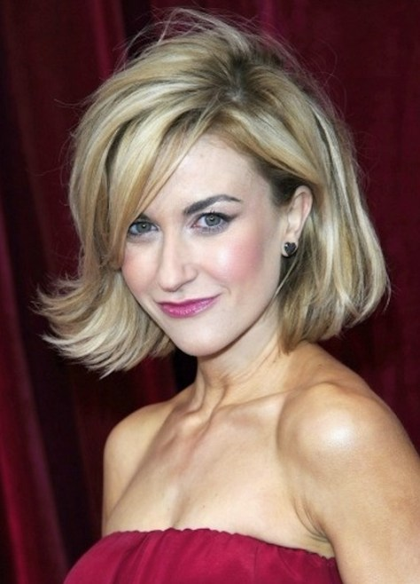 Bob Hairstyles with Side Swept Bob