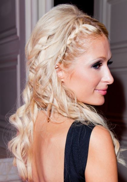 Braid with Curls Hairstyle