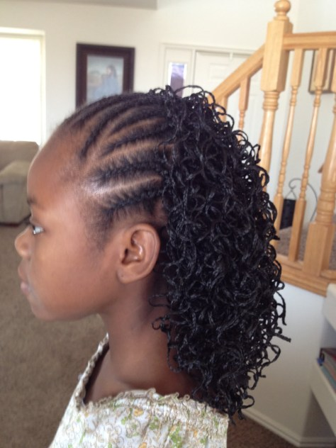 Cornrow Braids with Extensions...