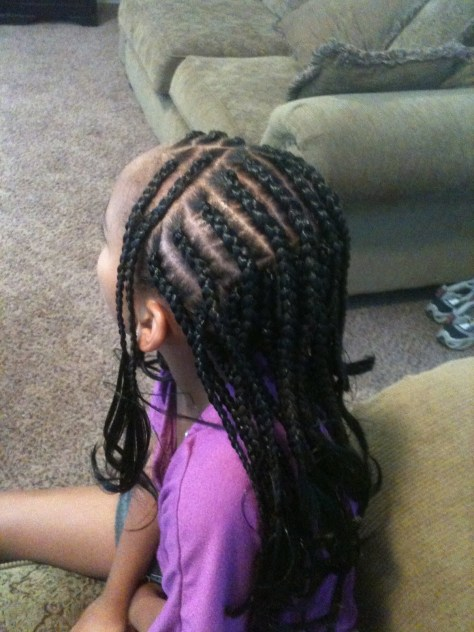 Cornrow Braids with Extensions