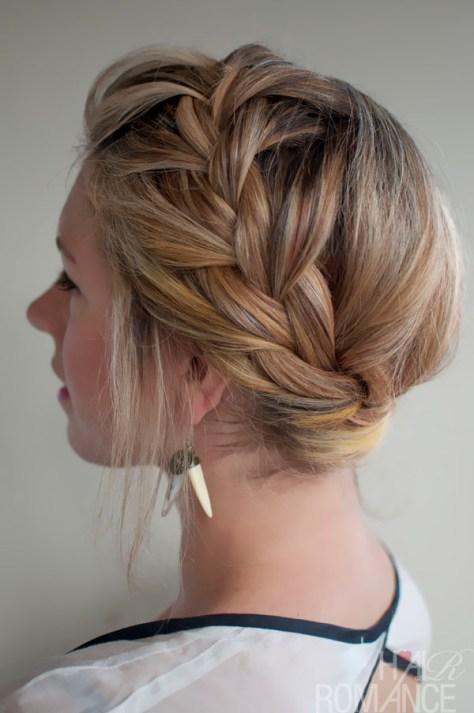 Crown French Braids