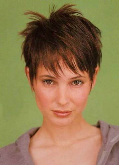 Cute Pixie Short Haircuts for Thin Fine Hair