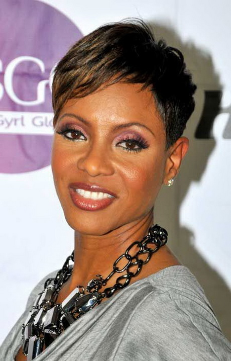 Haircut Short Hairstyles for Black Women..