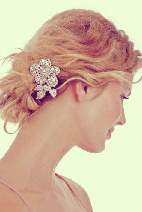 Hairstyle Short Hair Wedding..