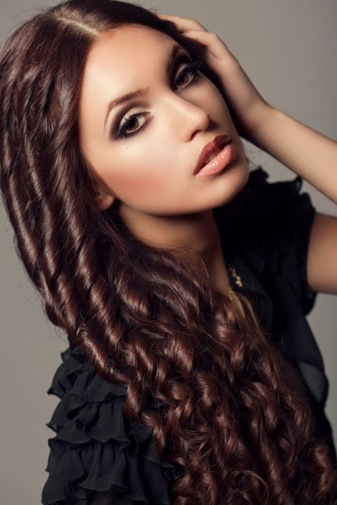 Long Hairstyles Curly Hair Women
