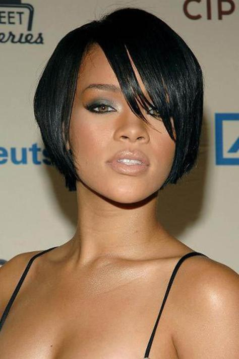 Medium Short Black Hairstyles